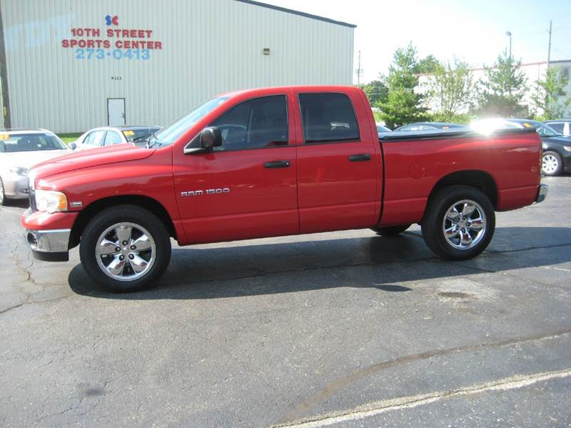 2004 dodge ram pickup 1500 slt 4dr quad cab sb in indianapolis in ams cars. Black Bedroom Furniture Sets. Home Design Ideas