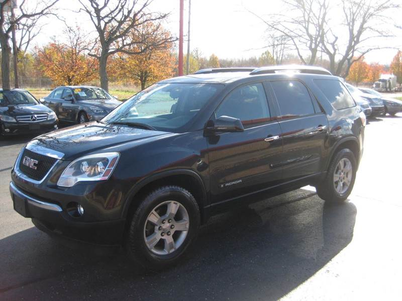 gmc acadia for sale in indianapolis in. Black Bedroom Furniture Sets. Home Design Ideas