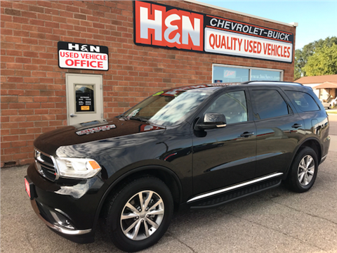 2015 Dodge Durango for sale in Spencer, IA
