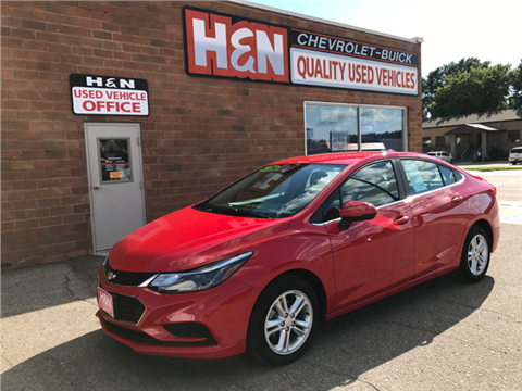 2017 Chevrolet Cruze for sale in Spencer, IA
