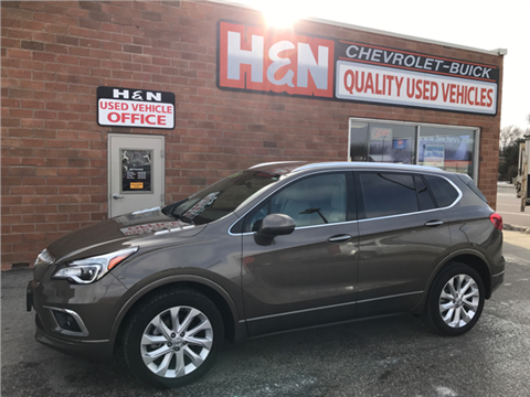 2016 Buick Envision for sale in Spencer, IA