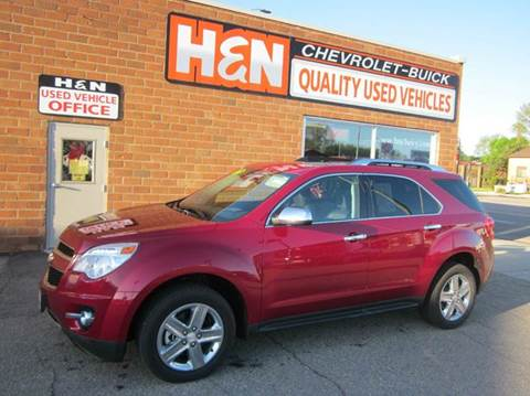 2015 Chevrolet Equinox for sale in Spencer, IA
