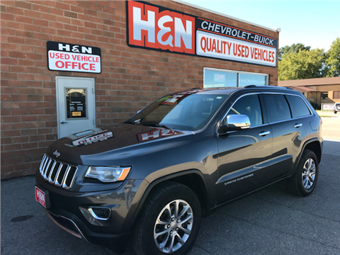 2015 Jeep Grand Cherokee for sale in Spencer, IA