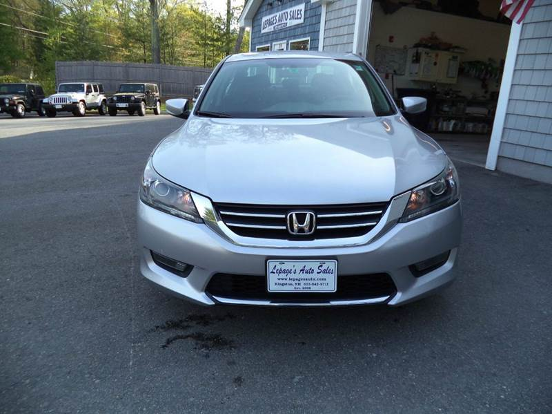 2014 Honda Accord Sport 4dr Sedan CVT - Kingston NH