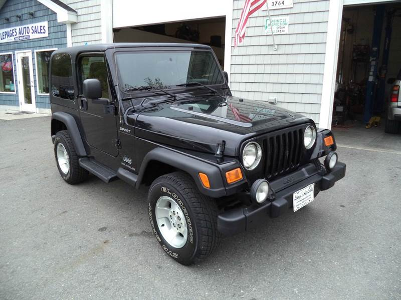 2003 Jeep Wrangler 2dr Sport 4WD SUV - Kingston NH