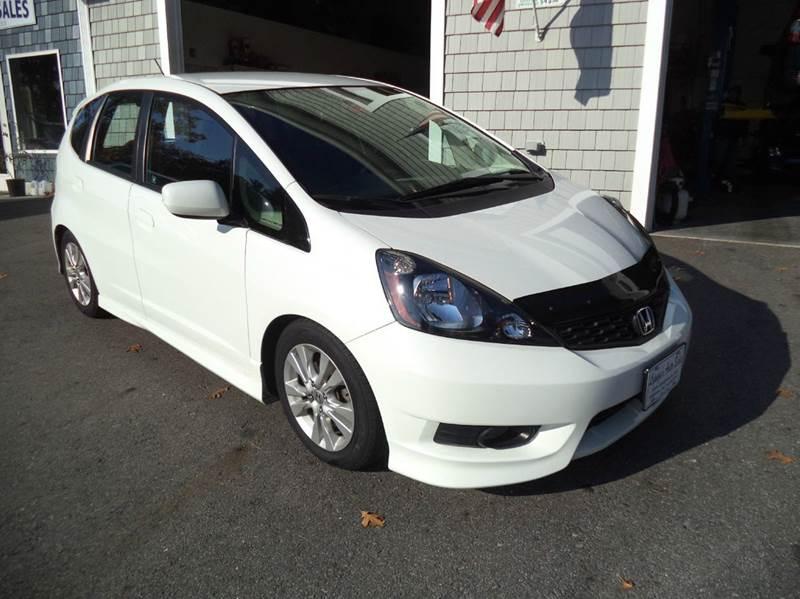 2012 Honda Fit Sport 4dr Hatchback 5A - Kingston NH