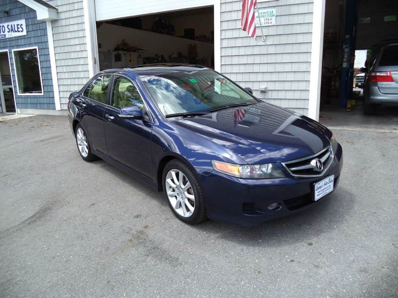 2008 Acura TSX 4dr Sedan 6M - Kingston NH