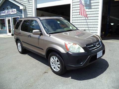 2006 Honda CR-V for sale in Kingston, NH
