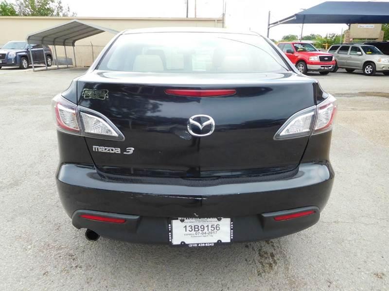 2010 Mazda MAZDA3 i Sport 4dr Sedan 5A - San Antonio TX