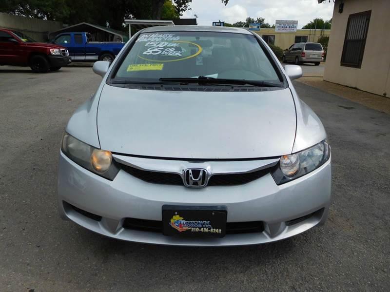 2009 Honda Civic LX 4dr Sedan 5A - San Antonio TX