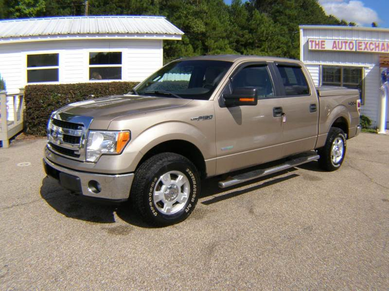 2013 ford f 150 4x4 xlt 4dr supercrew styleside 6 5 ft sb in columbia ms the auto exchange. Black Bedroom Furniture Sets. Home Design Ideas