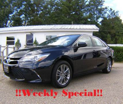 2016 Toyota Camry for sale in Columbia, MS