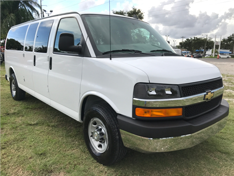 2017 Chevrolet Express Passenger for sale in Hollywood, FL