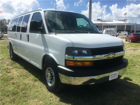 2014 Chevrolet Express Passenger for sale in Hollywood, FL