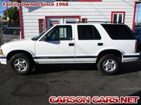 1997 Chevrolet Blazer for sale in Lynnwood, WA