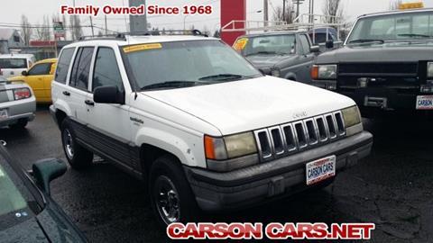 1993 Jeep Grand Cherokee for sale in Lynnwood, WA