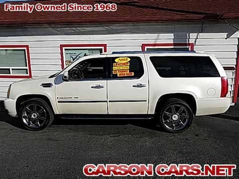 2008 Cadillac Escalade ESV for sale in Lynnwood, WA
