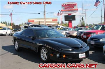 1998 Pontiac Firebird for sale in Lynnwood, WA