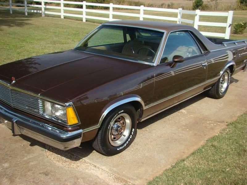 1981 Chevrolet El Camino 2dr Standard Cab - Calumet OK