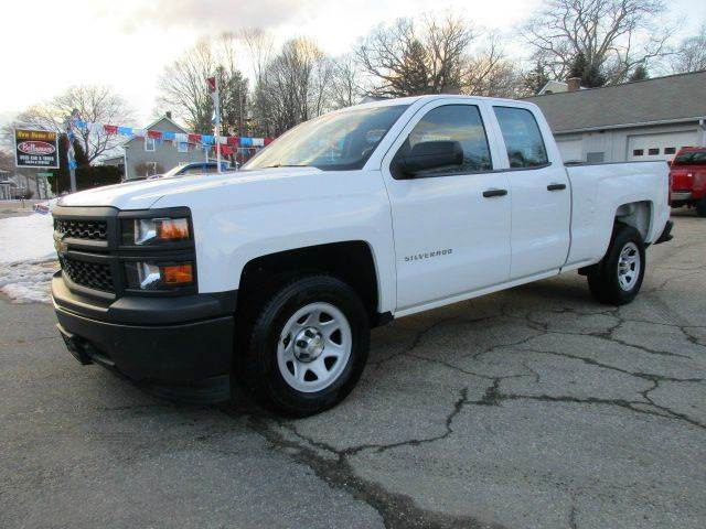 2014 chevrolet silverado 1500 4x2 work truck 4dr double. Black Bedroom Furniture Sets. Home Design Ideas