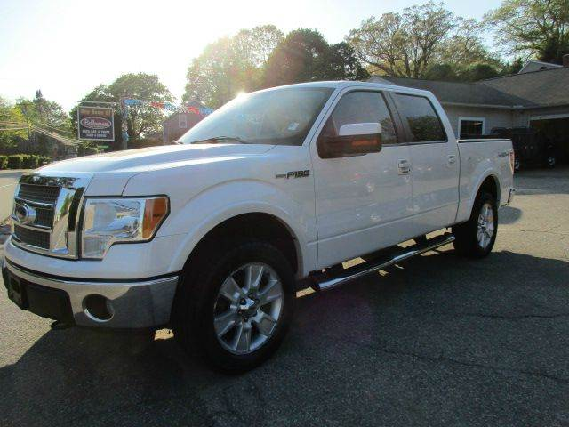 2010 Ford F-150 4x4 Lariat 4dr SuperCrew Styleside 5.5 ft. SB - Moosup CT