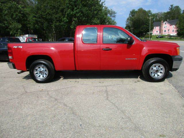 2011 GMC Sierra 1500 4x4 Work Truck 4dr Extended Cab 6.5 ft. SB - Moosup CT