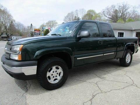 2004 Chevrolet Silverado 1500 for sale in Moosup, CT