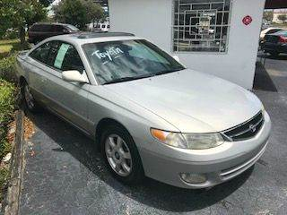 1999 toyota camry solara sle v6 2dr coupe in pompano beach for 1999 toyota camry window motor
