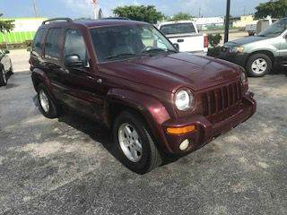 2003 Jeep Liberty for sale in Pompano Beach, FL