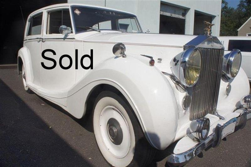 1949 Rolls-Royce SILVER WRAITH SORRY JUST SOLD
