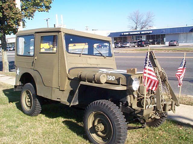 1946 Willys CJ 5