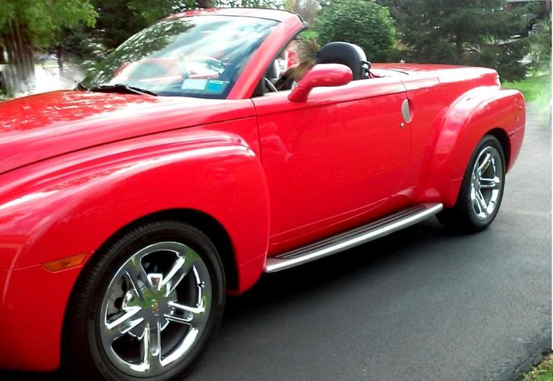 2004 Chevrolet Ssr 2dr Regular Cab Convertible LS Rwd SB In ...