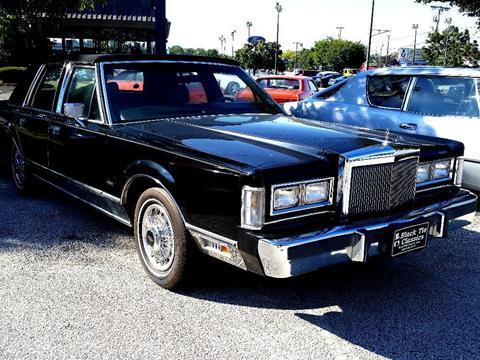 1988 Lincoln Town Car for sale in Stratford, NJ