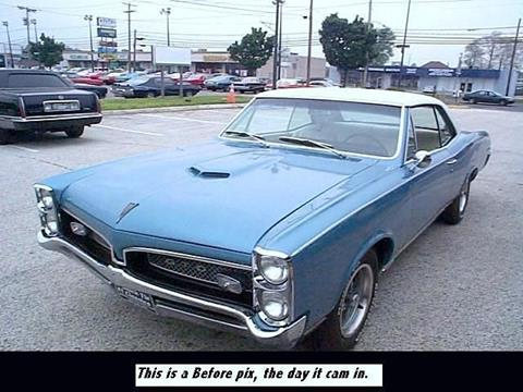 1967 Pontiac GTO For Sale in Iowa  Carsforsalecom
