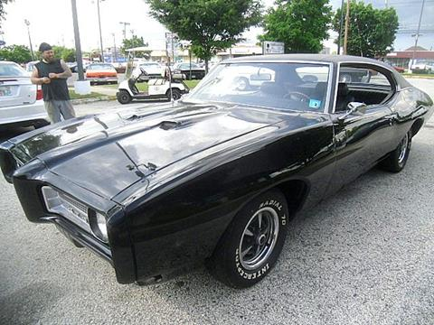 1969 Pontiac GTO For Sale  Carsforsalecom