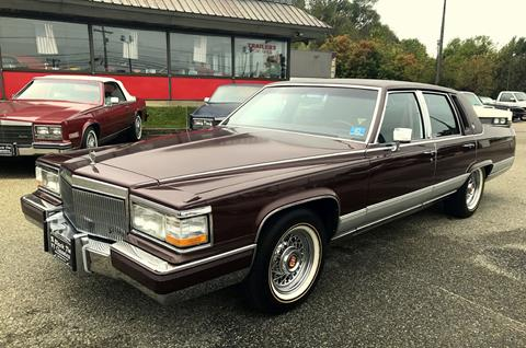 Used 1990 Cadillac Fleetwood Brougham For Sale in Maine ...