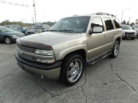 2001 Chevrolet Tahoe for sale in Centralia, WA