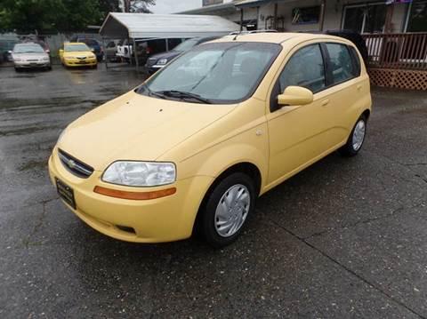 2005 Chevrolet Aveo for sale in Centralia, WA