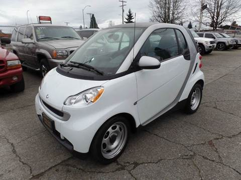 2012 Smart fortwo for sale in Centralia, WA