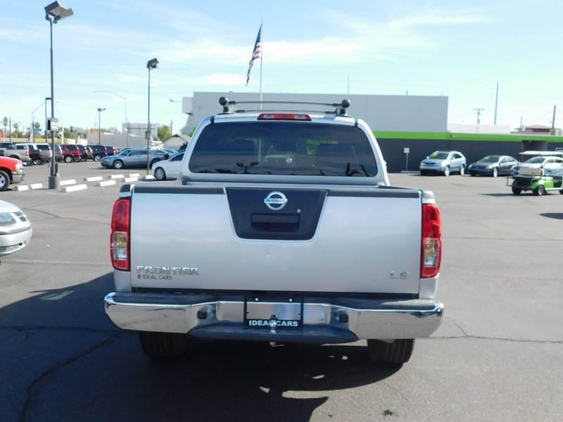 2010 Nissan Frontier 4x2 LE 4dr Crew Cab SWB Pickup 5A - Mesa AZ