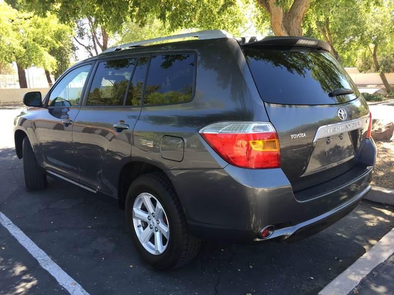 2008 Toyota Highlander 4dr SUV - Mesa AZ