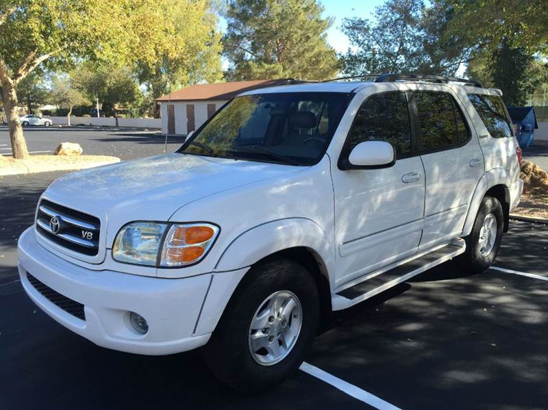 2002 toyota sequoia limited 2wd 4dr suv in mesa az ideal. Black Bedroom Furniture Sets. Home Design Ideas