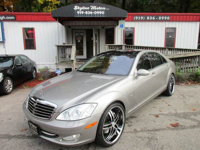 2007 mercedes benz s class for sale for Skyline motors raleigh nc