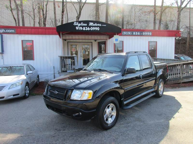 2004 Ford Explorer Sport Trac 4dr XLT 4WD Crew Cab SB - Raleigh NC