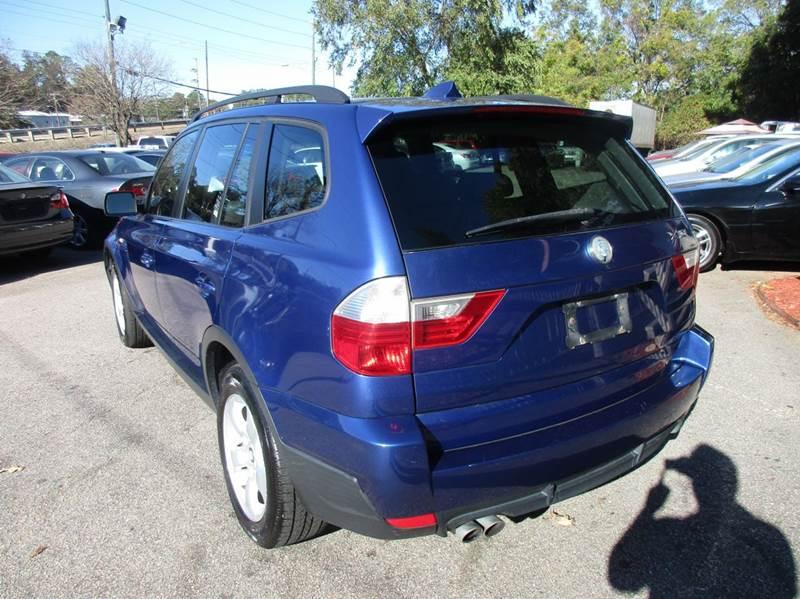 2007 BMW X3 3.0si AWD 4dr SUV - Raleigh NC