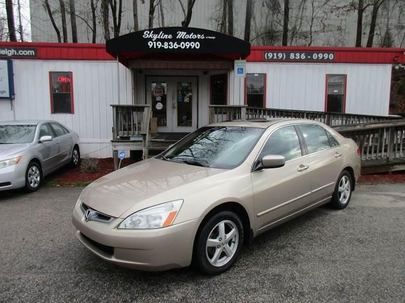 2004 Honda Accord EX 4dr Sedan - Raleigh NC