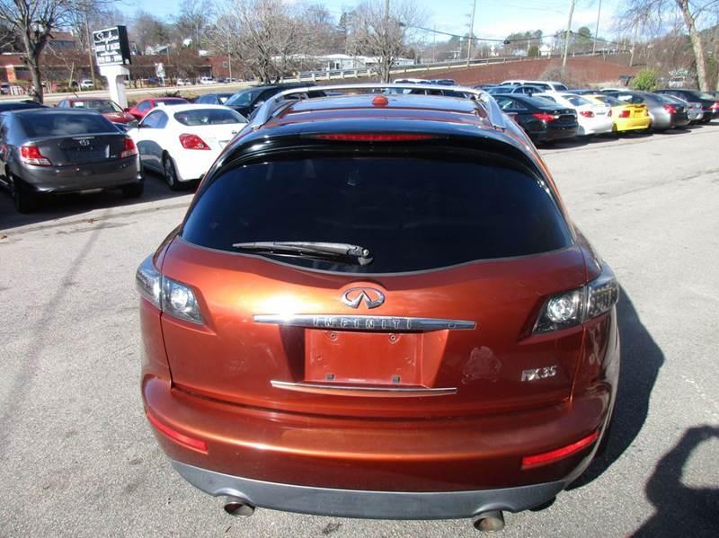 2007 Infiniti FX35 4dr SUV - Raleigh NC