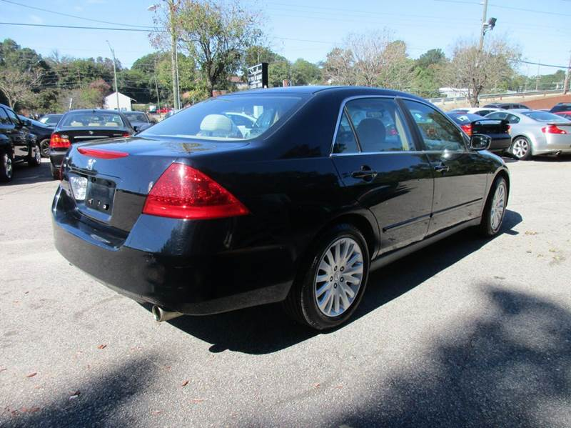 2007 Honda Accord Special Edition V-6 4dr Sedan - Raleigh NC
