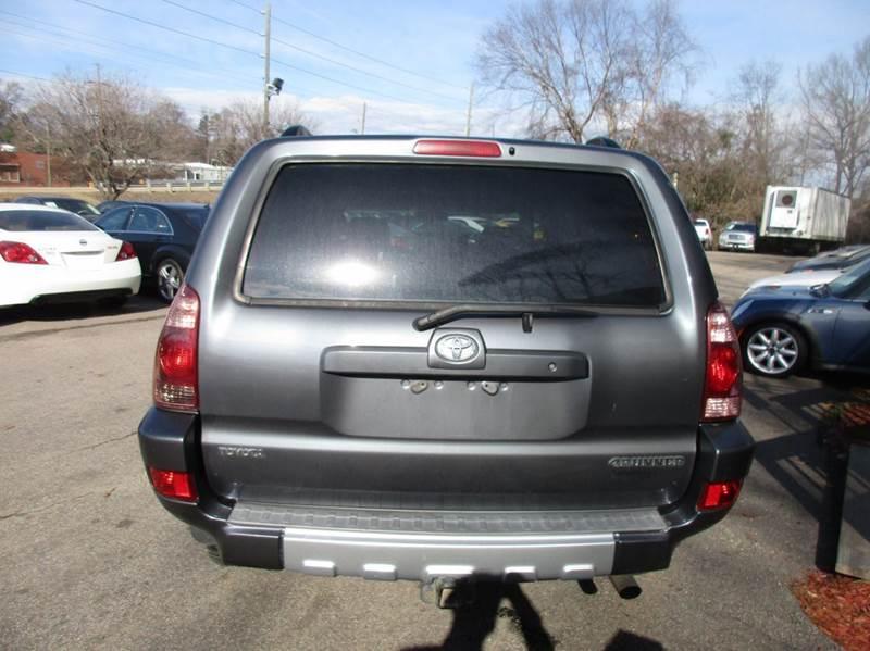 2003 Toyota 4Runner SR5 4dr SUV - Raleigh NC