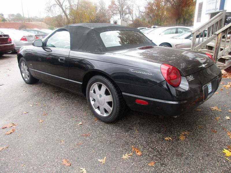 2003 Ford Thunderbird Premium 2dr Convertible w/ Removable Top - Raleigh NC